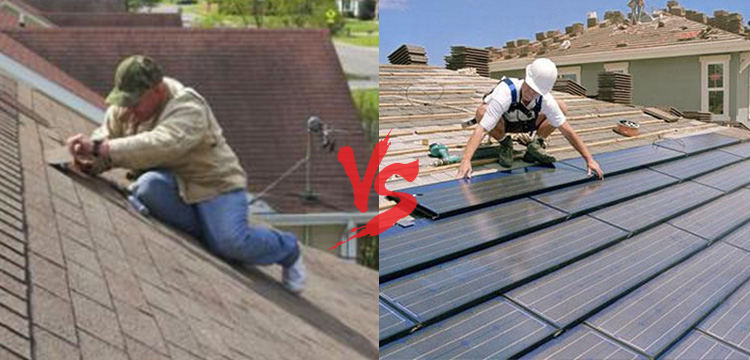 Diy vs professional roofer
